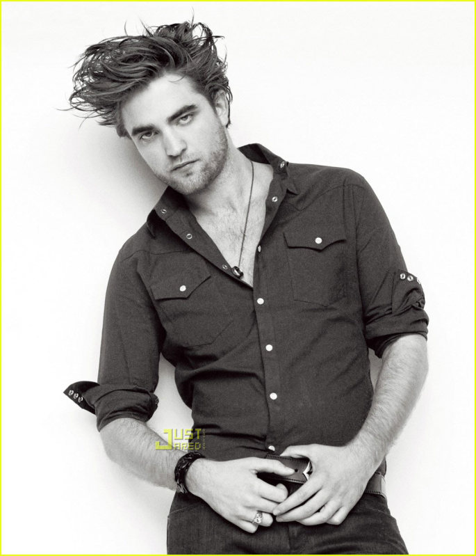 robert pattinson laying down